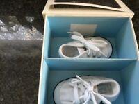 Ralph Lauren layette first size trainers for newborn