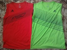 Adidas (medium) exercise vest Silky smooth material