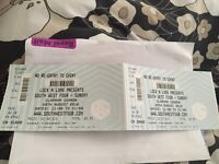 2 X SW4 tickets £50 each