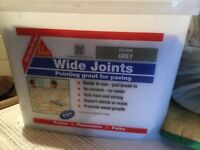 2 tubs of SIKA wide joint pointing for paving