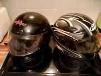 Helmets £25 for both