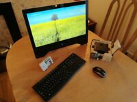 WIN 10 multimedia all in one PC 22 Inch touch screen I3 3.3 ghz 4gb ram