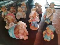 """""""Cherished Teddies"""" Collectable figurines"""
