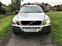 Automatic -- Volvo XC 90 -- 2.9 T6 SE AUTO Geartronic AWD -- Part Exchange OK --- Drives Good