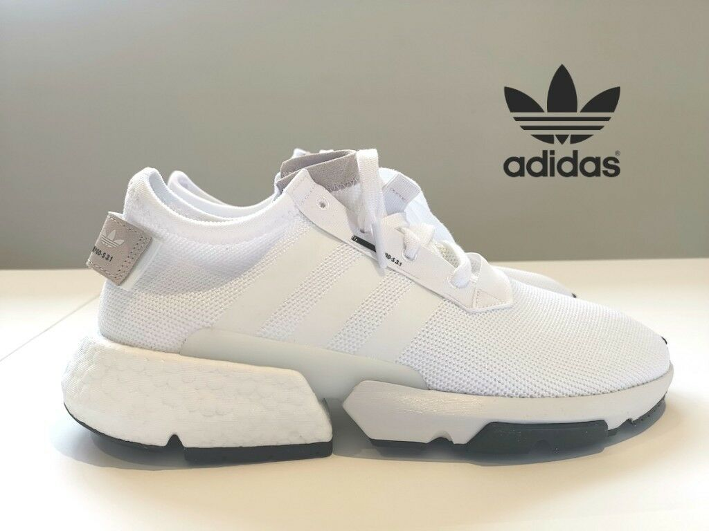 huge discount 76b10 38921 New Adidas Originals POD-S3.1 Boost Trainers White
