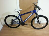 Cannondale mountain Bike with 26 wheel size