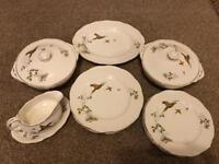 Alfred Meakin Pheasant dinner set