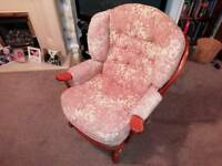 Matching 2 seater and Armchair