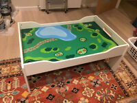 Play table - activity table with drawers for children's toys