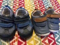 Clark's baby shoes great condition