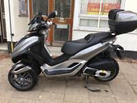 PIAGGIO MP3 LT 300cc GREY 2011 hpi clear not vespa fuco