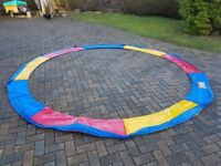 12ft Multicoloured Trampoline Pad New