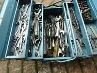 Toolbox containing 40 + Spanners