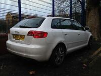 Audi A3 Sportback 1.6 TDI Unrecorded damage spares or repair