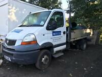 Renault master mascott pick up 3.5 ton breaking