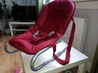 Hauck baby bouncer rocker chair