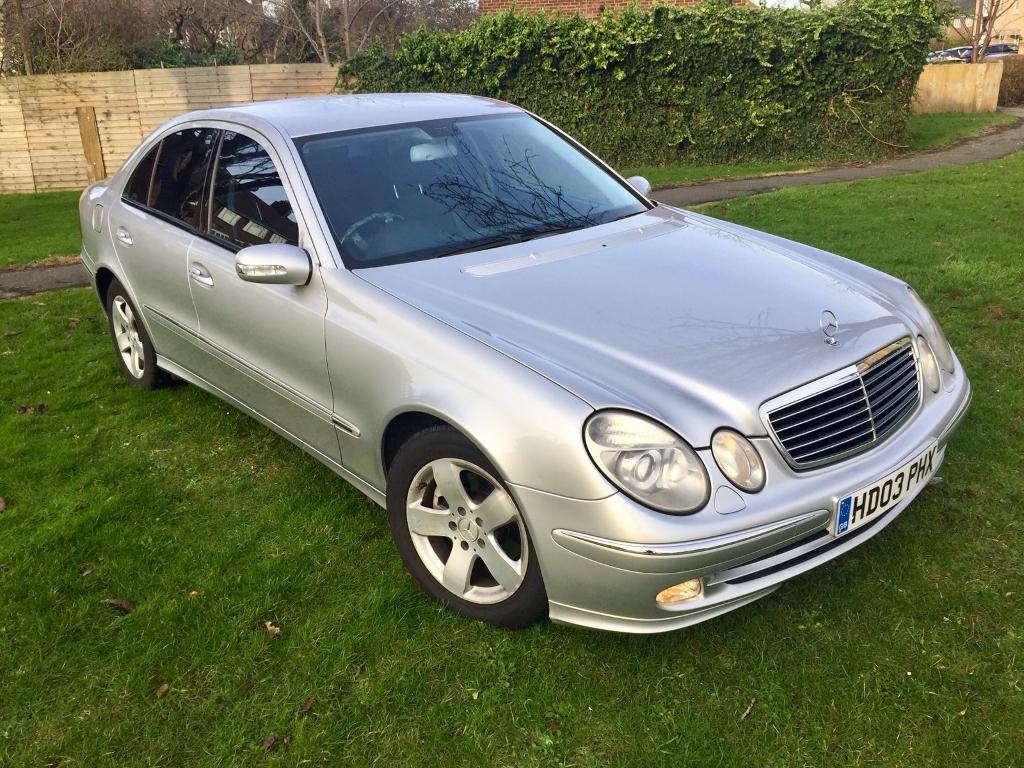 Mercedes-Benz E Class 2 7 E270 CDI Avantgarde DIESEL, not BMW, Golf, Audi  or Ford!   in Ilford, London   Gumtree