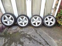 BMW 4 alloy wheels