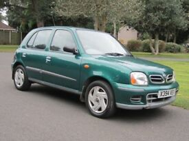 Low Mileage 5 door Nissan Micra SE Automatic