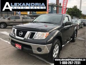 2011 Nissan Frontier SV 4x4 safety included