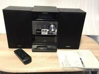 Sony compact disc receiver/dab