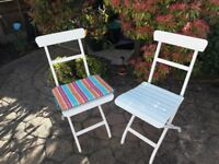 Ikea Malaro Metal Garden Table,Chairs & Cushions