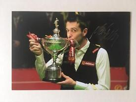 Mark Selby Signed Photograph Snooker
