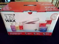 JUST WAX professional starter kit BNIB