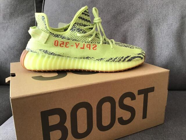 best sale delicate colors retail prices ADIDAS YEEZY BOOST 350 V2 SEMI FROZEN YELLOW UK 10.5 MENS   in Swindon,  Wiltshire   Gumtree