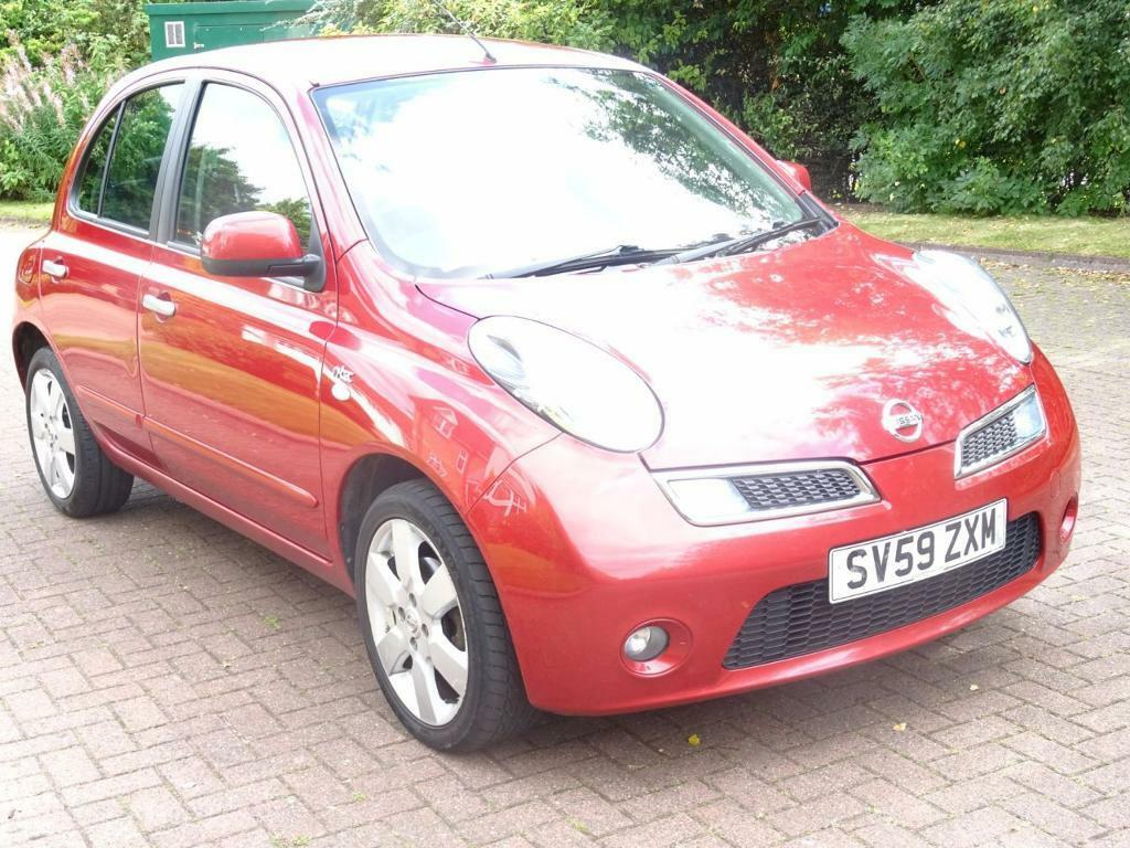 NISSAN MICRA 1.2 N-TEC 5d AUTO 80 BHP 1 OWNER FROM NEW*** SERVI (red) 2009