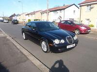 2003(53)JAGUAR S-TYPE 3.0 SPORT AUTOMATIC BLACK,BLACK LEATHER,NEW MOT,GREAT VALUE