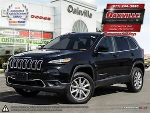 2014 Jeep Cherokee LIMITED | EVERY OPTION | LOW KMS | SPECIAL PU