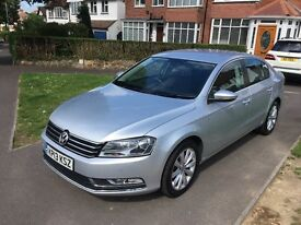 2013/13 Volkswagen Passat highline 2.0 Tdi Bluemotion only £7995