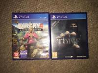 Far cry 4 & thief PS4