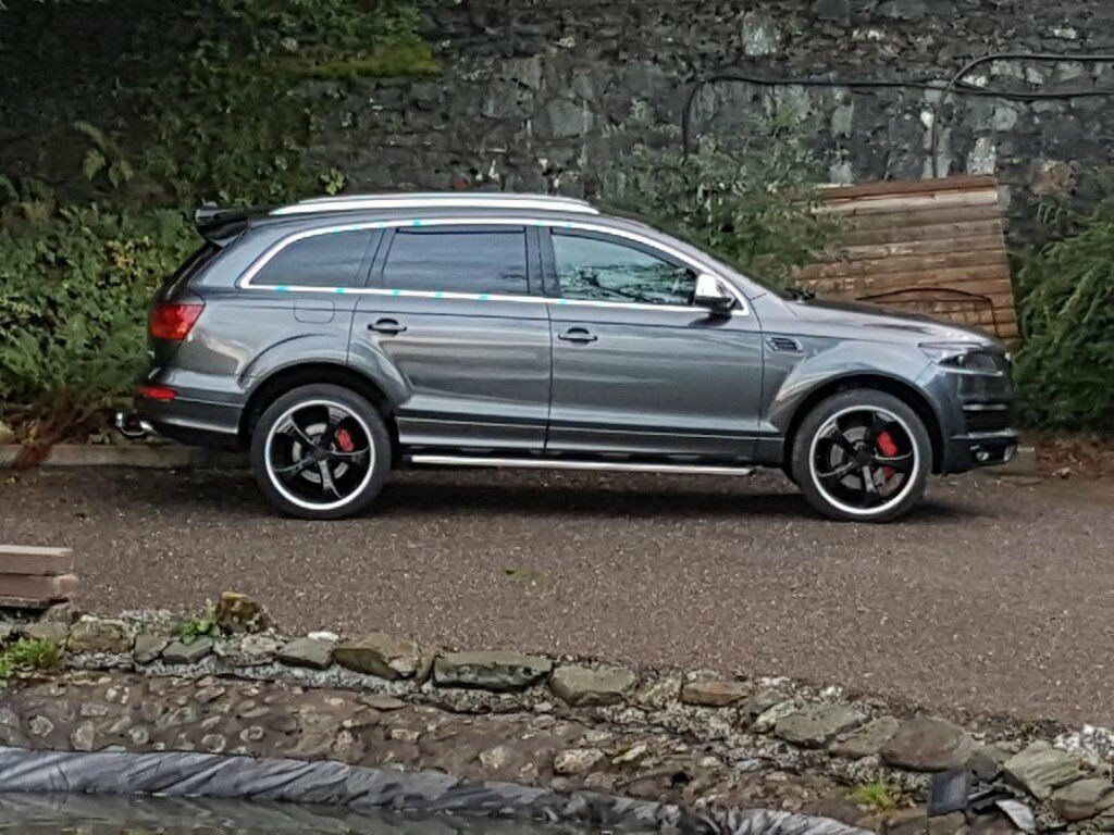 audi q7 3 0 tdi tiptronic 2007 quattro s line new battery towbar side steps in east kilbride. Black Bedroom Furniture Sets. Home Design Ideas