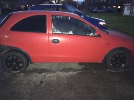 OFFERS 53 plate corsa