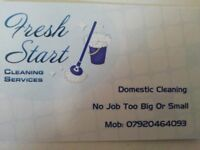 FRESH START Domestic Cleaning Services