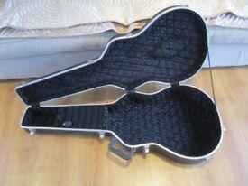 Kinsman Premium Acoustic Guitar Hard Shell Case / Flight Case.