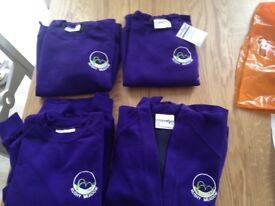 New jumpers of Rushy Meadow Primary School