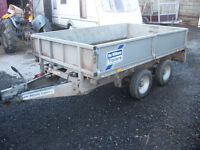 Ifor Williams 8 x 5 Drop side Trailer