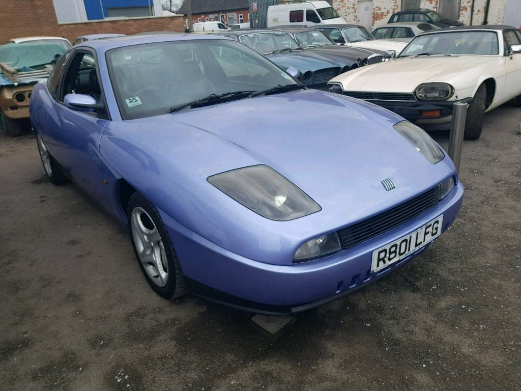 Fiat coupe 20v turbo - only 2 previous owners - recent full respray