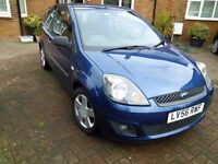Ford Fiesta 1.4 Zetec 2007 Climate Manual --- HPI Clear --- 1 yrs Mot (no advisories) and S/H ----