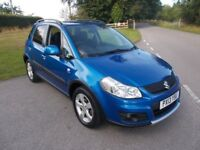 2013 13 SUZUKI SX4 2.0 DDIS 4X4 5 DOOR SUV SZ5 IN METALIC BLUE CALL 07791629657