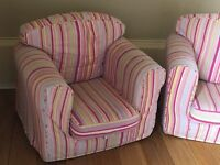 Beautiful children's single sofa chair ideal for playroom or for bedroom