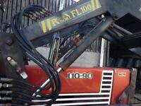 Fiat 110-90 with loader