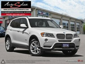 2014 BMW X3 xDrive28i AWD ONLY 72K! **TECHNOLOGY PKG** CLEAN...