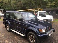 Mitsubishi shogun 2.8 tdiesel auto 7 seater 1996 1 owner 134,000 miles