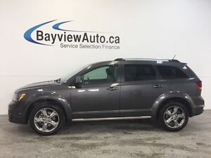 2016 Dodge JOURNEY CROSSROAD- 3.6L! ROOF! NAV! REV CAM! 7 PASS!