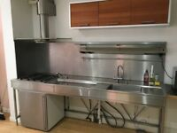 Used Bulthaup System B20 kitchen 2007, incl Gaggenau fridge and ATAG gas hob