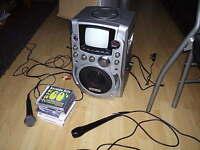clarity cdg karaoke machine with moniter